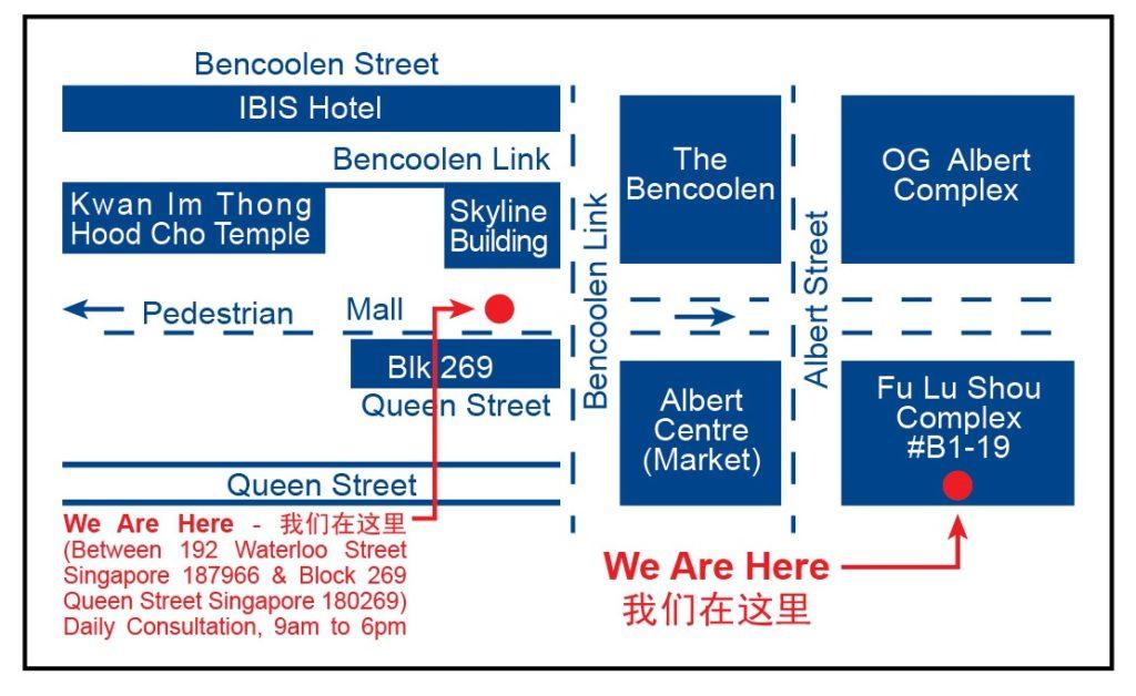 Du Fu Cheng Huang Miao map
